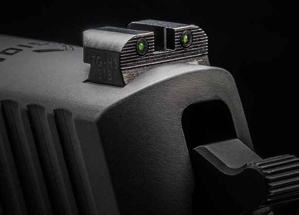 X-RAY Blacked-Out Day/Night Rear Sight