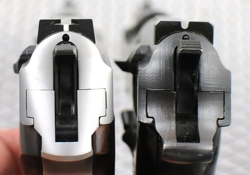P38S vs. P38 rear sights