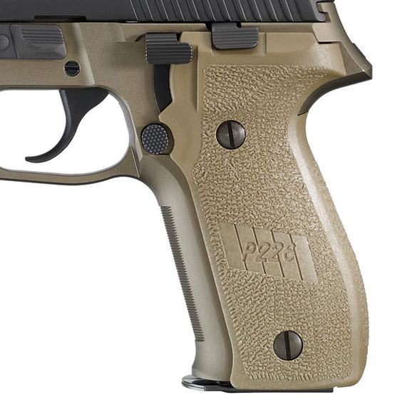 OEM P226 Flat Dark Earth (FDE) grips