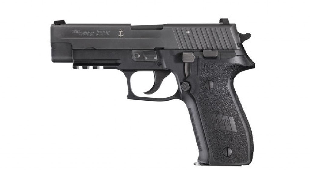 Newer-style factory grips on a P226 MK25