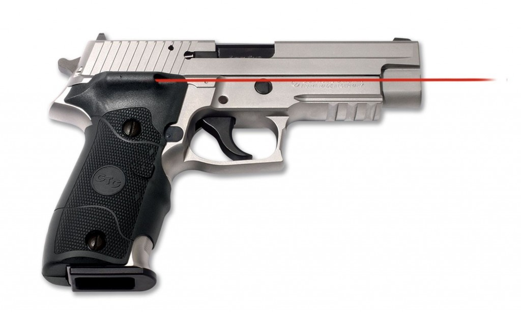 Crimson Trace LG-326 side-activated Lasergrips for the P226
