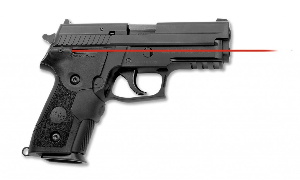 Crimson Trace LG-429M waterproof front-activated Lasergrips for the P228 and P229