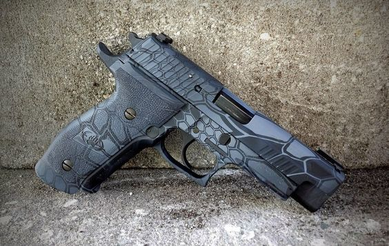 SIG P226 grips with a Kryptec Typhon dip