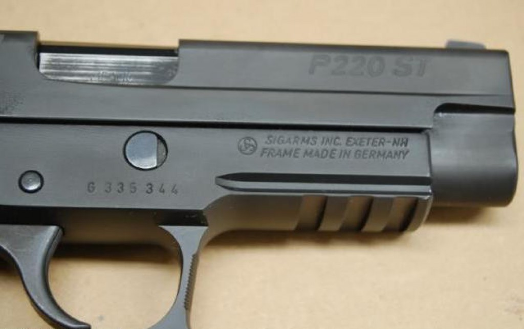 US-made P220 ST with German-made frame