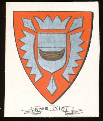 City of Keil's coat of arms, circa 1910