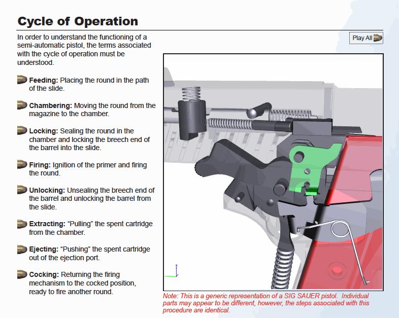 astounding sig p226 parts diagram images