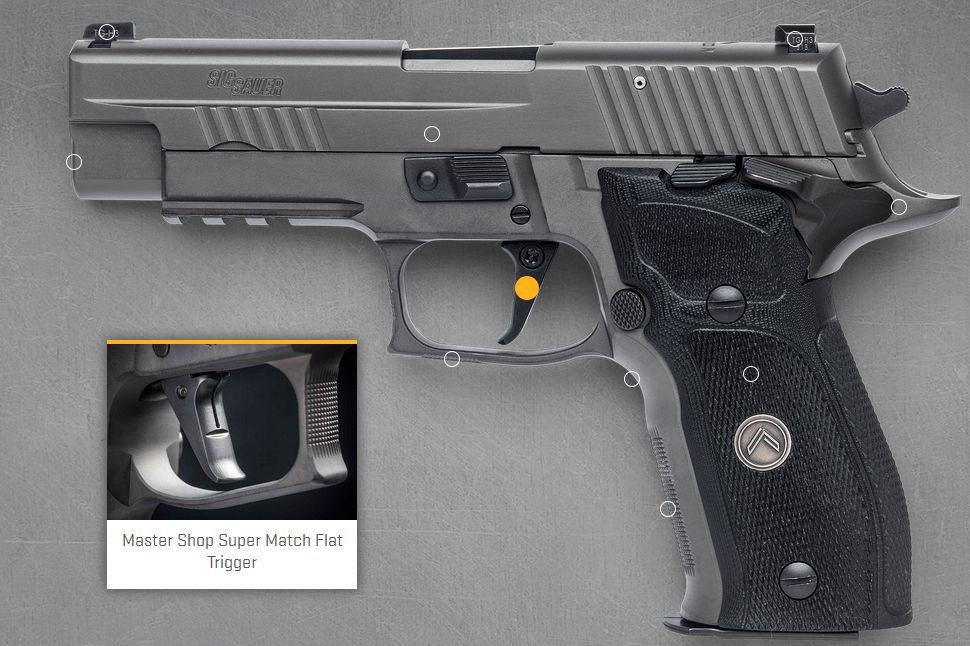 SIG Sauer P226 SAO marketing photo from SIG's website, circa 2016