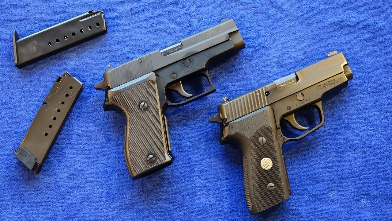 The SIG P225 and P225-A1 are completely different pistols and share almost no parts