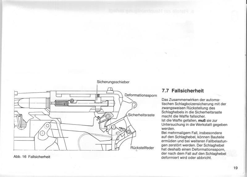 SIG P6 Owner's Manual Section 7.7