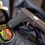 SIG Sauer P6 with German Polizei jacket