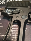 Why you can't use Original West German P226 Grips with a Looped Trigger Bar Spring