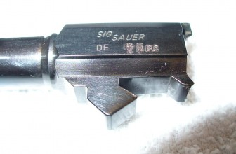 SIG Sauer Proof Marks and Date Codes