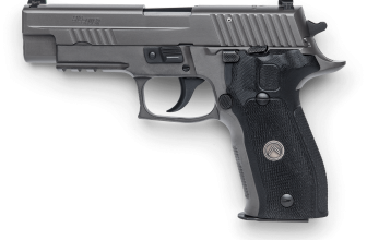 Upgrade a West German SIG Sauer P226 to Legion Specs